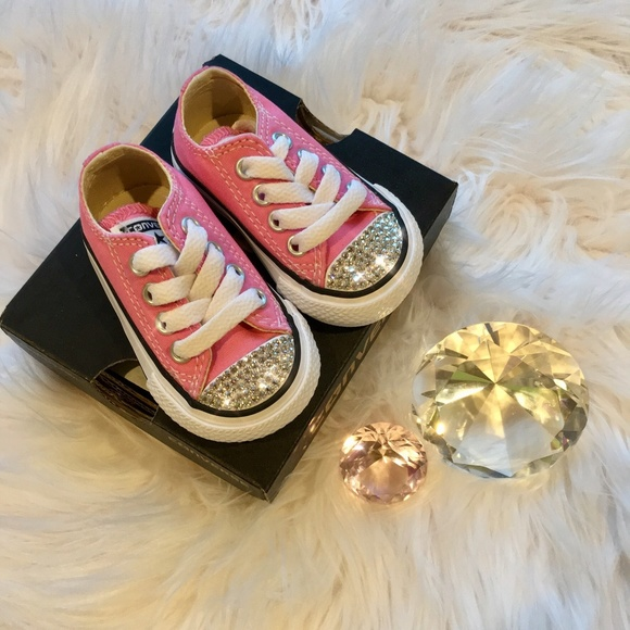 3138f8b810502 Bling Converse All Star Chucks w Swarovski Crystal Boutique